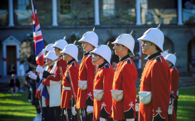 Changing of the Guard Ceremony & Posting of the Sentries